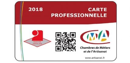 Charmant La Carte Professionnelle Des Artisans